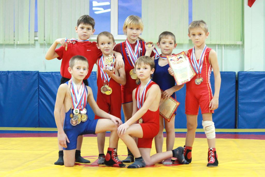 чемпионы Новоселово
